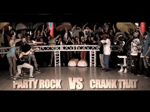 HD Party Rock VS Crank That (Epice Dance Battles)