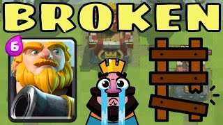 getlinkyoutube.com-Is ROYAL GIANT RUINING the LADDER in ARENA 9?!?! Clash Royale