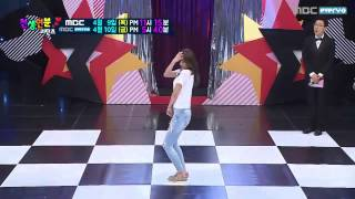 getlinkyoutube.com-150409 AOA Hyejeong혜정   Short Hair + Miniskirt + Like a Cat @ Match made in Heaven Returns