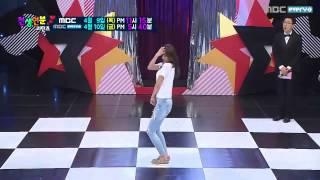 150409 AOA Hyejeong혜정   Short Hair + Miniskirt + Like a Cat @ Match made in Heaven Returns