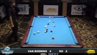 getlinkyoutube.com-2014 CSI 8 Ball Invitational FINALS: Van Boening vs Ko Ping Chung