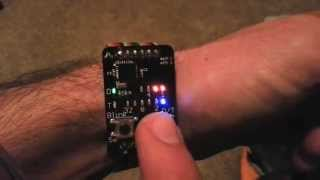 getlinkyoutube.com-Binary watch demo