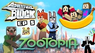 getlinkyoutube.com-Adventure Block - Episode 5: ZOOTOPIA!  Going to the Movies! (FGTEEV MINECRAFT MINI-SERIES)