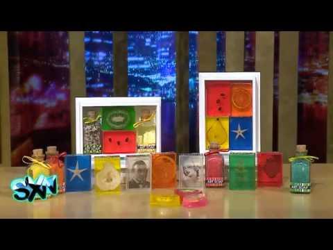 Jabones con Foto ART SOAP para Mariana Merino y Gonzalo Egas