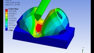 getlinkyoutube.com-Ansys workbench and using  LSDYNA  Soda can crush Explicit Dynamics analysis