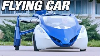 getlinkyoutube.com-► Flying Car - AeroMobil 3.0 demonstration