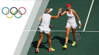 getlinkyoutube.com-Rio Replay: Women's Tennis Doubles Final Match