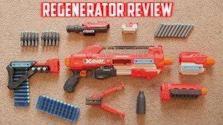X-Shot Regenerator Unboxing, Review & Range Test (X SHOT MODULUS)