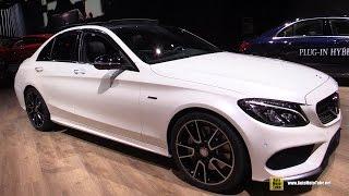 getlinkyoutube.com-2016 Mercedes-Benz C-Class C450 AMG 4Matic - Exterior, Interior Walkaround - 2015 Detroit Auto Show