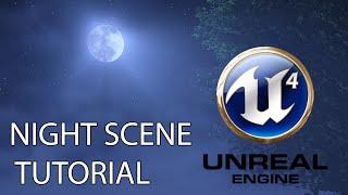 getlinkyoutube.com-[TUTORIAL] UE4 Night Scene - Includes MOON