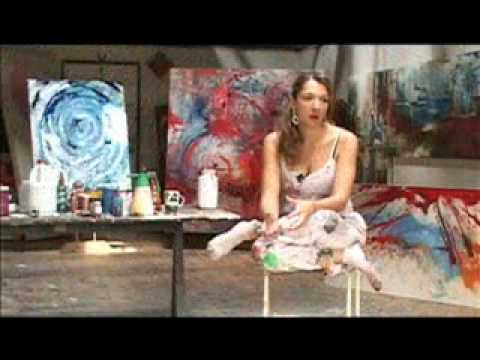 Video Carolina Jaramillo arte abstracto y figurativo Pintura y fotografia