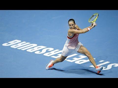 2016 St. Petersburg Ladies Trophy Semifinal | Roberta Vinci vs Ana Ivanovic | WTA Highlights