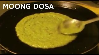 getlinkyoutube.com-Moong Dosa/ Crepe - Easy Vegetarian/ Vegan Healthy Breakfast Recipe in Hindi