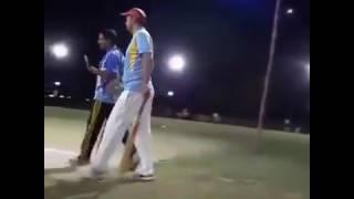 Great Shahbaz kalia batting  in Multan