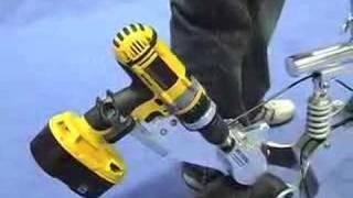 getlinkyoutube.com-Drill-Powered Bike