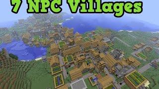 getlinkyoutube.com-Minecraft Xbox 360 + PS3 Seed: 7 NPC VILLAGES + 2 Desert Temples