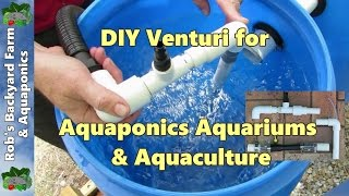 getlinkyoutube.com-DIY venturi, a few easy builds for aquaponics, aquaculture or hydroponics..