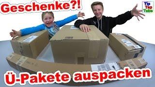 getlinkyoutube.com-Geschenke auspacken - Ü-Pakete fast wie Geburtstag und Weihnachten  TipTapTube