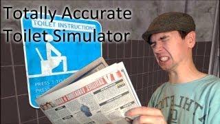getlinkyoutube.com-Totally Accurate Toilet Simulator 2013 | SITTIN ON THA TOILET