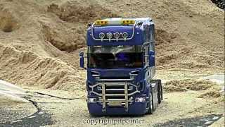getlinkyoutube.com-Tamiya Scania 490 hp Longliner