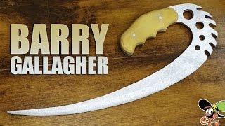 getlinkyoutube.com-Как сделать Barry Gallagher из дерева?