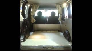 Fiat Doblo Camper van Conversion by Creation Campers