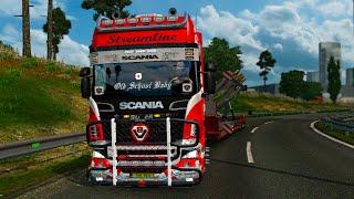 getlinkyoutube.com-Sound Scania R730 l Euro Truck Simulator 2 l 1.22