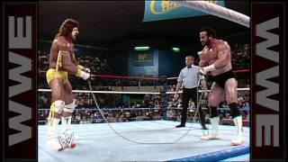 getlinkyoutube.com-The Ultimate Warrior vs. Hercules - Chain Match