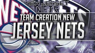 NBA 2K16: New Jersey Nets Team Creation
