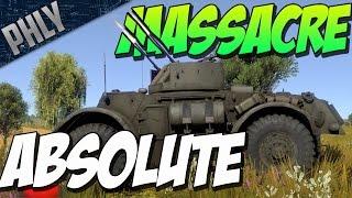 getlinkyoutube.com-ABSOLUTE MASSACRE - T17E2 ARMOURED CAR - War Thunder Tanks