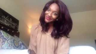 getlinkyoutube.com-Freetress Equal Heaven | 99J| Natural Hair Wig
