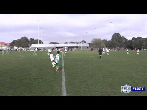 Pascoe Vale SC vs Green Gully U12s