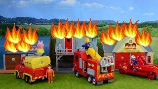 getlinkyoutube.com-NEW 2016 Fireman Sam Great Fire Of Pontypandy Feuerwehrmann Sam Tv Show