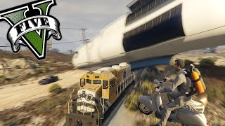 getlinkyoutube.com-GTA V PC MODS - Curiosidades Divertidas De Los Mods en GTA 5 PC
