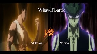getlinkyoutube.com-HxH What If Battle ADULT GON VS MERUEM (CHIMERA ANT KING) DISCUSSION