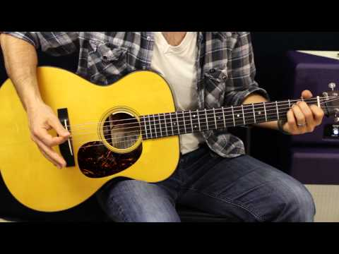 Chord Progression - With A Moving Bass Line - Acoustic Guitar Lesson - Free