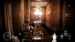 Star Wars Battlefront 2 - Heavy Class + AT-RT 29 Killstreak Gameplay - Galactic Republic on Naboo width=