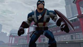 Disney Infinity 2.0 - Captain America Sentinel of Liberty Power Disc (First Avenger)