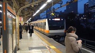 getlinkyoutube.com-夜のJR御茶ノ水駅