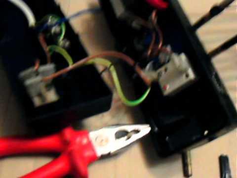 Reparación freidora, cambio interruptor.