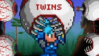 getlinkyoutube.com-Terraria - 150 Players vs 10 Twins