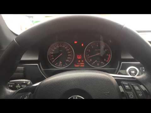 Удаление ошибки спущенного колеса или давления в шинах на BMW 3 E90/E92/E93