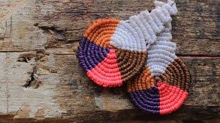 getlinkyoutube.com-como hacer aros macrame cavandolli multicolor