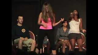 getlinkyoutube.com-Comedy Stage Hypnosis Air Guitars!