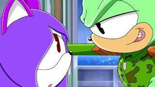 ::Recoloring【Sonic X】To Cindy The Cat & Flippy The Bear:: ~Request - Nightcore FNAC Cindy The Cat~