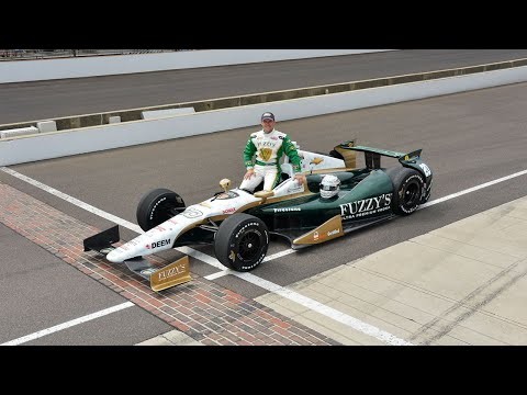Ed Carpenter - Pole Laps - 2013 Indianapolis 500 Pole Day
