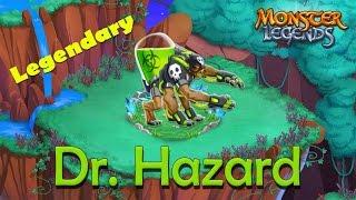getlinkyoutube.com-Monster Legends - How To Get Dr. Hazard (Legendary) + Combat