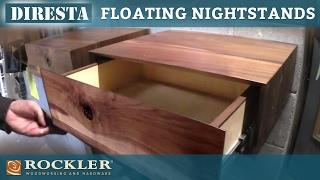 getlinkyoutube.com-DiResta   Floating Nightstands Project