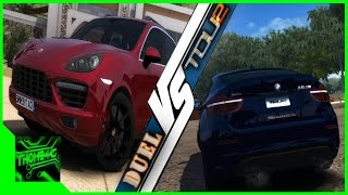 getlinkyoutube.com-Duel TDU 2 - BMW X6M vs Porsche Cayenne GTS