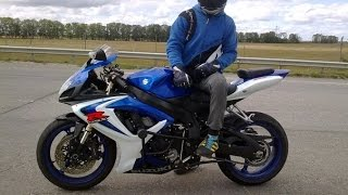getlinkyoutube.com-SUZUKI GSXR - 600!! TOP SPEED, Full Power,